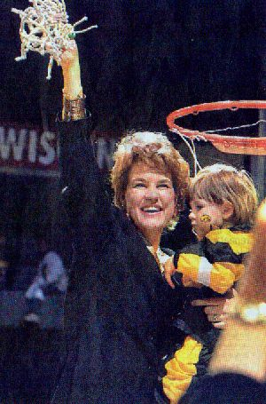 Iowa Coach Lisa Bluder